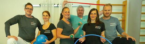 Das Therapeuten Team von Physiotherapie Roland Voigt